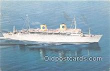shi062472 - MS Kungsholm Swedish American Line Ship Postcard Post Card