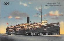 shi062477 - D & C Navigation Company Steamer Eastern States Ship Postcard Post Card