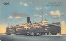 shi062478 - D & C Navigation Company Steamer Eastern States Ship Postcard Post Card