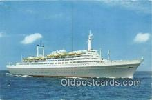 shi062503 - SS Rotterdam Holland America Line Ship Postcard Post Card