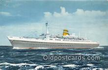 shi062505 - SS Statendam Holland America Line Ship Postcard Post Card