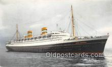 shi062506 - SS Nieuwamsterdam Holland America Line Ship Postcard Post Card