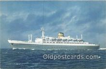 shi062514 - SS Statendam Holland America Line Ship Postcard Post Card