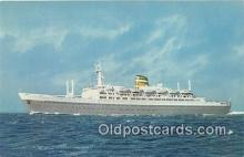 shi062515 - SS Statendam Holland America Line Ship Postcard Post Card