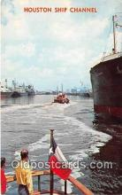 shi065014 - Houston Ship Channel  Ship Postcard Post Card