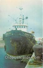 shi070006 - Terry M Tug of Cabras Marine Corp, Home Port, Guam Ship Postcard Post Card