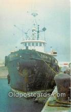 shi070007 - Terry M Tug of Cabras Marine Corp, Home Port, Guam Ship Postcard Post Card