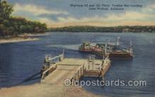 shi075003 - Lake Norfork, Arkansas, USA Ferry, Ship Ships Postcard Postcards