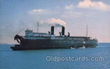 shi075007 - Chief Wawatam-Railroad Carfery, Michigan, USA Ferry, Ship Ships Postcard Postcards