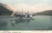 shi075009 - F.E. Brandt in Gmunden Ferry, Ship Ships Postcard Postcards