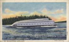 shi075011 - Kalakala-Puget Sound Ferry,Washington, USA Ferry, Ship Ships Postcard Postcards