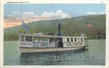 shi075012 - Greenwood Lake, New York, USA Ferry, Ship Ships Postcard Postcards