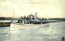 shi075024 - Owascc Lake, N.Y., New York, USA Ferry Boat, Boats Postcard Postcards