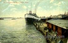 shi075029 - Detroit, Michigan, USA Ferry Boat, Boats Postcard Postcards