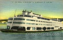 shi075032 - The Admiral Excursion Boat, St.Louis, Mo., USA Ferry Boat, Boats Postcard Postcards