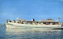 shi075037 - Rainbow Party Boat Ferry Boat, Boats Postcard Postcards