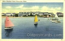shi075041 - White Elephant Hotel, Nantucket, Massachusett, USA Ferry Boat, Boats Postcard Postcards
