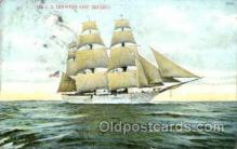 shi075048 - U.S. Training ship severin Ferry Boat, Boats Postcard Postcards