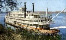 shi075051 - Stern-wheeler Ferry Boat, Boats Postcard Postcards