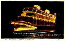 shi075054 - Hovertram, Blackpool Illuminations Ferry Boat, Boats Postcard Postcards