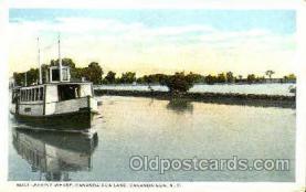 shi075067 - Canandaigua Lake, Canandaigua, NY, USA Ferry Boat, Boats Postcard Postcards