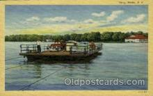 shi075070 - Ferry, Stowe, New York, USA Ferry Boat, Boats Postcard Postcards