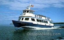 shi075074 - Star line boats Ferry Boat, Boats Postcard Postcards