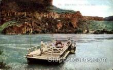shi075075 - Glean's Ferry, Snake's river, Idaho, USA Ferry Boat, Boats Postcard Postcards