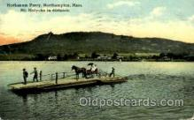 shi075079 - Mt.Holyoke Range, Hockanum Ferry Ferry Boat, Boats Postcard Postcards