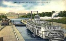shi075086 - Ohio river boat, Louisville, Kentucky, USA Ferry Boat, Boats Postcard Postcards