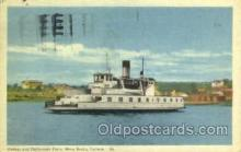 shi075087 - Halifax and Dartmounth Ferry, Nova Scotia, Canada Ferry Boat, Boats Postcard Postcards