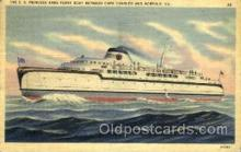 shi075091 - The S.S. Princess Anne Ferry Boat Ferry Boat, Boats Postcard Postcards
