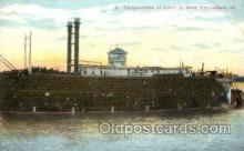 shi075095 - Transportation of Cotton, New Orieans, LA, Los Angels, USA Ferry Boat, Boats Postcard Postcards