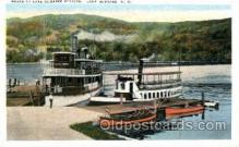 shi075097 - Lake Sunapee, N.H. New Hampshire, USA Ferry Boat, Boats Postcard Postcards