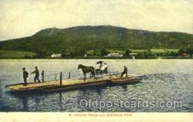 shi075099 - Mt. Holyoke Range, Hockanum Ferry Ferry Boat, Boats Postcard Postcards