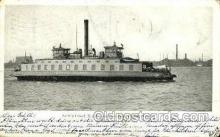 shi075101 - East Boston Ferry Boat, Massachusetts, USA Ferry Boat, Boats Postcard Postcards
