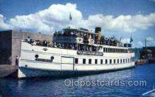 shi075108 - Gray Line Sightseer, US Government locks Ferry Boat, Boats Postcard Postcards