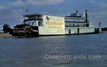 shi075112 - Snow boat Museum, Rhododendron Ferry Boat, Boats Postcard Postcards