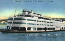 shi075114 - The Admiral Excursion Boat, St.Louis, Mo., USA Ferry Boat, Boats Postcard Postcards