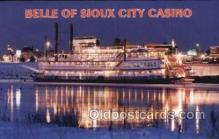shi075131 - Belle Of Sioux City Casino Ferry Boats, Ship, Ships, Postcard Post Cards