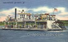 shi075148 - Memphis Queen II Ferry Boats, Ship, Ships, Postcard Post Cards