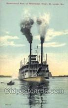 shi075151 - Government Boat On The Mississippi Ferry Boats, Ship, Ships, Postcard Post Cards