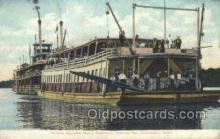 shi075152 - Havana Business Mens Excursion, Chaulauqua Beach Ferry Boats, Ship, Ships, Postcard Post Cards