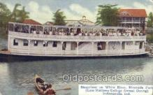 shi075182 - Steamboat on The White River Ferry Boats, Ship, Ships, Postcard Post Cards