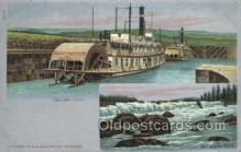 shi075184 - Cascade Locks Ferry Boats, Ship, Ships, Postcard Post Cards