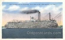 shi075200 - New Orleans, LA USA Ferry Boats, Ship, Ships, Postcard Post Cards