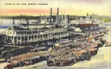 shi075203 - Memphis, Tennessee, USA Ferry Boats, Ship, Ships, Postcard Post Cards