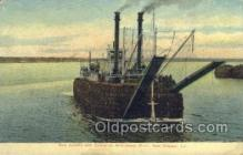 shi075204 - New Orleans, LA USA Ferry Boats, Ship, Ships, Postcard Post Cards