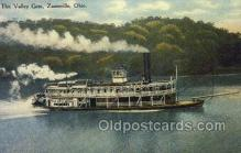 shi075206 - Azanesville, Ohio, USA Ferry Boats, Ship, Ships, Postcard Post Cards
