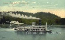 shi075207 - Zanesville, Ohio, USA Ferry Boats, Ship, Ships, Postcard Post Cards